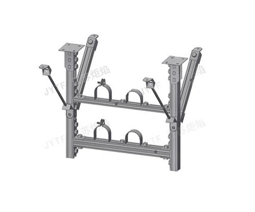 撐拉式多層龍門吊架